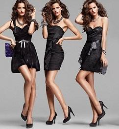 Zapatos para vestidos de noche cortos