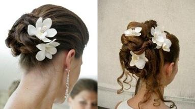 peinados d novia con adornos