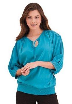 blusas elegantes para gorditas