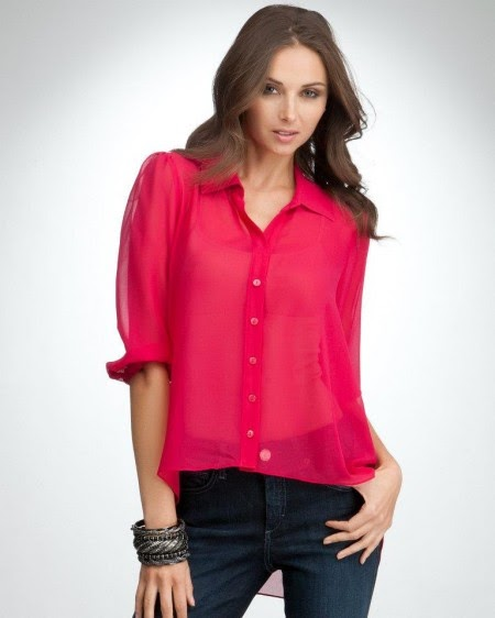 blusas manga larga