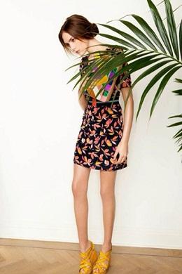 vestidos coloridos de moda