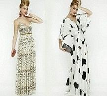 vestidos largos y cortos de moda
