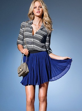 faldas brillantes