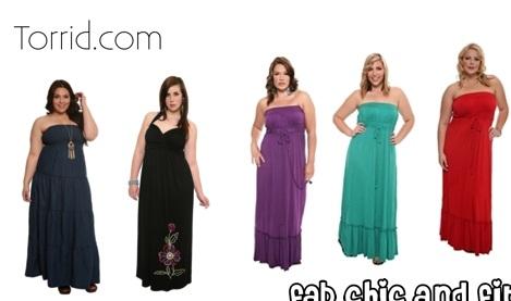 vestidos y faldas gorditas