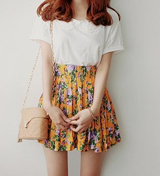 faldas cortas de primavera