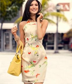 vestidos cortos floreados