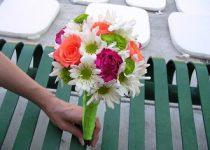 flores de novia