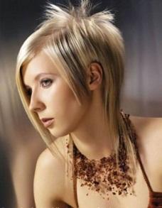 peinados alborotados