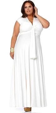 vestidos blancos gorditas