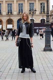 moda faldas largas