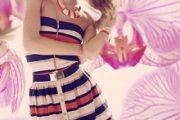 Elegantes vestidos de moda casual 2012
