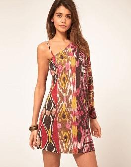 vestidos cortos de colores