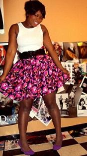 vestidos floreados para gorditas