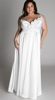 vestidos de bodas para rellenitas