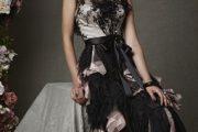 Vestidos de fiesta en tonalidades oscuros
