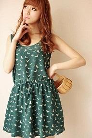 vestidos informales de moda 2012