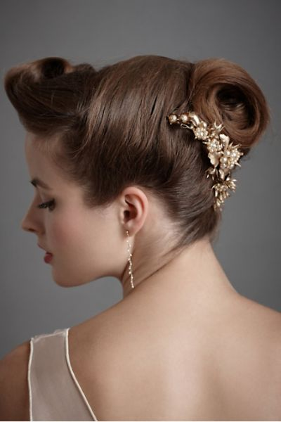 peinados amarrados de novia