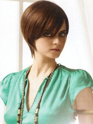 peinados de moda 2012