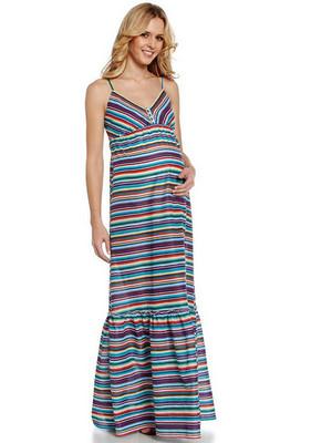 vestidos largos de maternidad