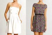 Modelos de vestidos informales de moda 2012