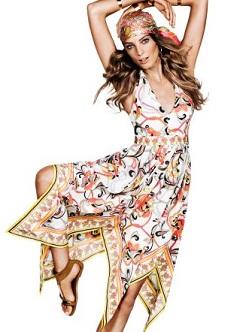 vestidos estampados de moda