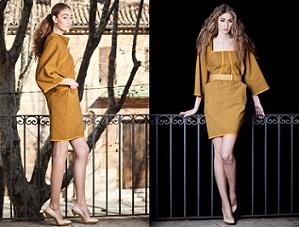 vestidos cortos modernos