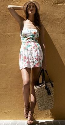 vestidos cortos de playa