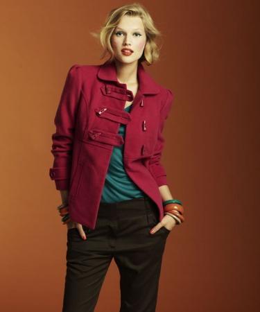 abrigos de colores