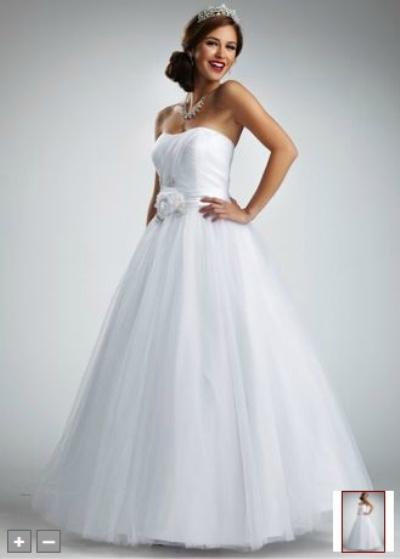 vestidos blancos con plumas