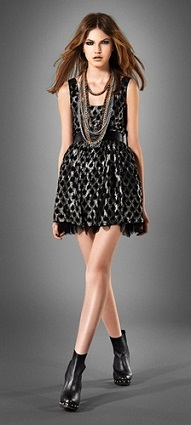 vestidos modernos brillantes