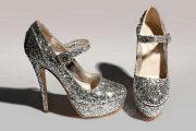 Preciosos modelos de zapatos con brillos
