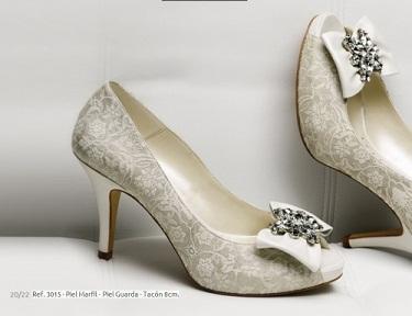 zapatos de tacón para novias