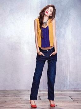 pantalones jeans de moda 2012