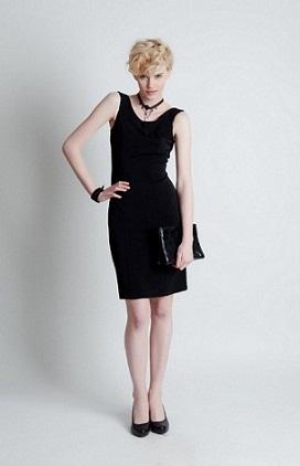 vestidos con volados de gala 2012