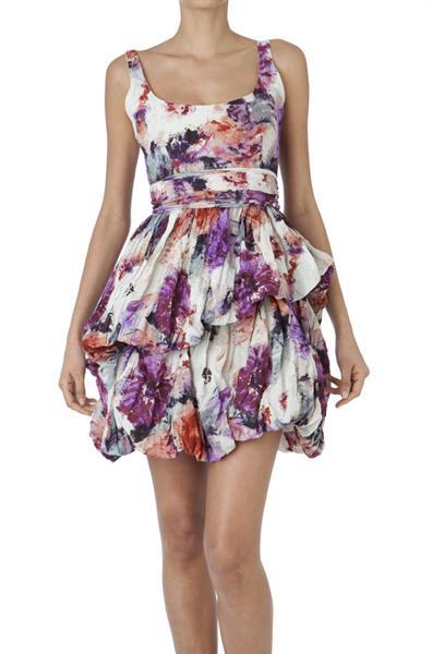 vestidos cortos estampados de verano