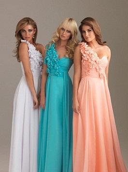 vestidos colores pasteles