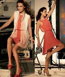 vestidos con rayas