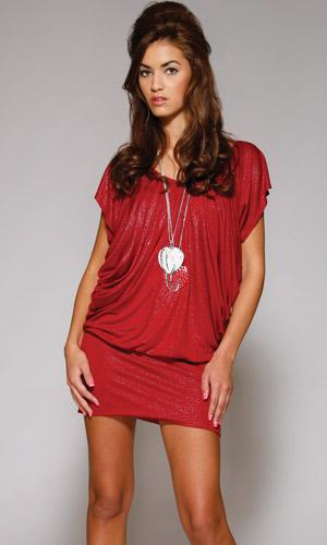 vestidos fruncidos de moda