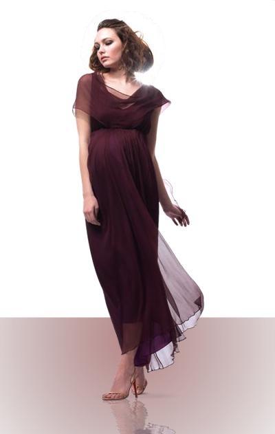 moda embarazadas de fiesta 2012
