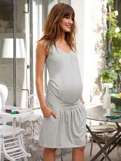 vestidos sueltos embarazadas