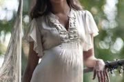 Ropa elegante de día para embarazadas