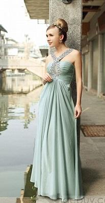 vestidos brillantes de moda 2012