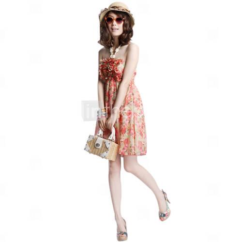 vestidos floreados