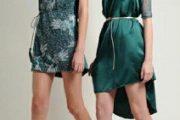 Colección de vestidos de moda otoño/invierno 2012