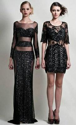 vestidos brillantes de fiesta
