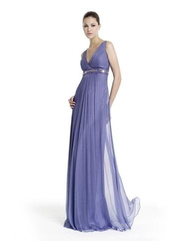 vestidos fruncidos 2012