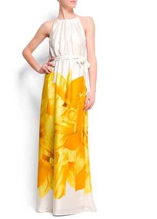 vestidos floreados de fiesta
