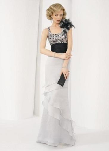 vestidos de dos piezas