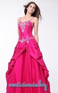 vestidos largos llamativos