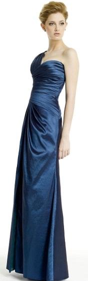 vestidos largos color azul